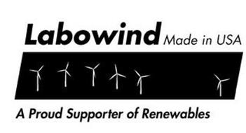 LABOWIND MADE IN USA A PROUD SUPPORTER OF RENEWABLES