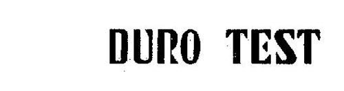 DURO TEST