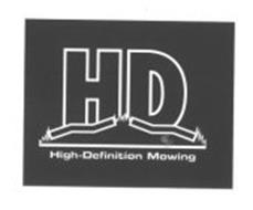 HD HIGH-DEFINITION MOWING