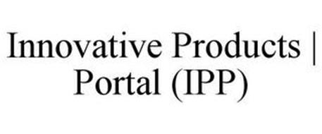 INNOVATIVE PRODUCTS | PORTAL (IPP)