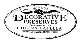 ARTIFICIAL DECORATIVE PRESERVES DESIGNED BY CUCINA LATELLA WWW.CUCINALATELLA.COM