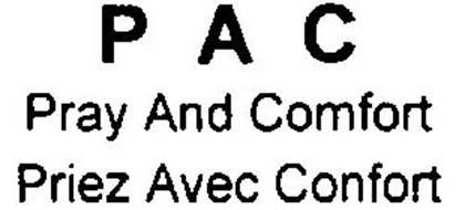 PAC PRAY AND COMFORT PRIEZ AVEC CONFORT