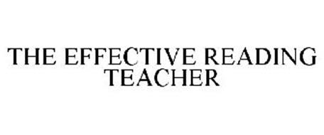 THE EFFECTIVE READING TEACHER