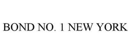 BOND NO. 1 NEW YORK