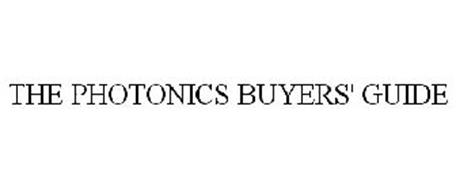 THE PHOTONICS BUYERS' GUIDE