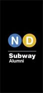 ND SUBWAY ALUMNI
