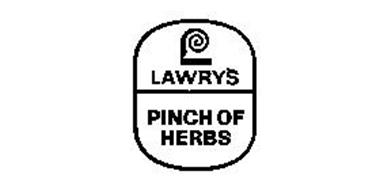 LAWRY'S PINCH OF HERBS