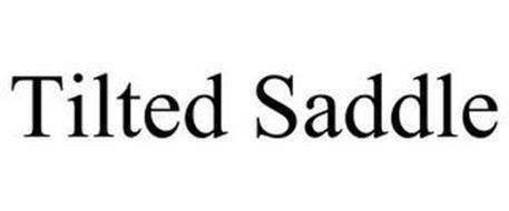 TILTED SADDLE