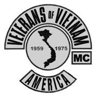 VETERANS OF VIETNAM MC AMERICA 1959 1975
