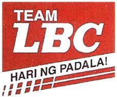 TEAM LBC HARI NG PADALA!