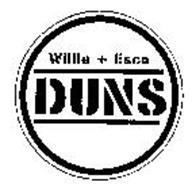 WILLIE + ESCO DUNS