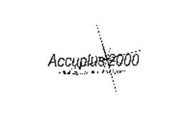 ACCUPLUS 2000 VIRTUAL LOGISTICS INFORMATION SYSTEM