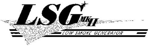 LSG MKII LOW SMOKE GENERATOR
