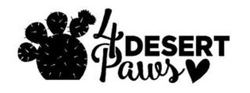 4 DESERT PAWS