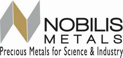 N NOBILIS METALS PRECIOUS METALS FOR SCIENCE & INDUSTRY
