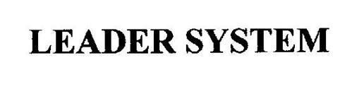 LEADER SYSTEM