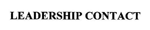 LEADERSHIP CONTACT