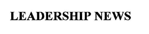 LEADERSHIP NEWS