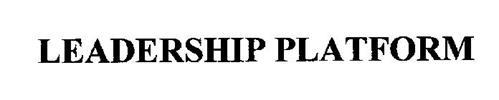LEADERSHIP PLATFORM