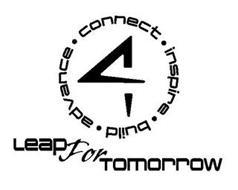LEAPFORTOMORROW 4 CONNECT · INSPIRE · BUILD · ADVANCE