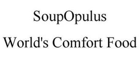 SOUPOPULUS WORLD'S COMFORT FOOD