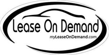 LEASE ON DEMAND MYLEASEONDEMAND.COM