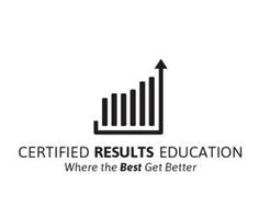 CERTIFIED RESULTS EDUCATION WHERE THE BEST GET BETTER