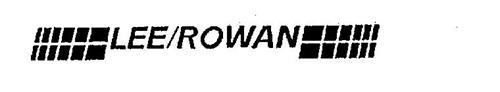 LEE/ROWAN