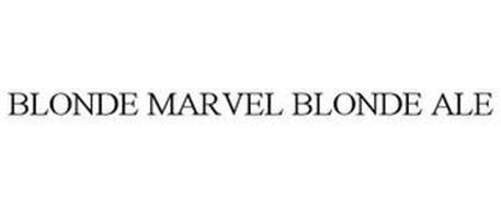 BLONDE MARVEL BLONDE ALE