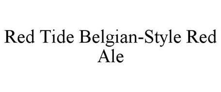 RED TIDE BELGIAN-STYLE RED ALE