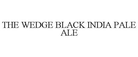 THE WEDGE BLACK INDIA PALE ALE