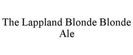 THE LAPPLAND BLONDE BLONDE ALE