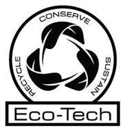 ECO-TECH CONSERVE RECYCLE SUSTAIN