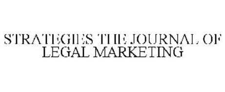 STRATEGIES THE JOURNAL OF LEGAL MARKETING