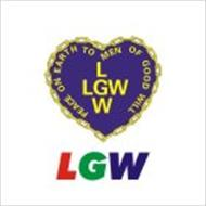 LGW PEACE ON EARTH TO PEOPLE OF GOOD WILL LLGWW