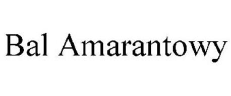BAL AMARANTOWY