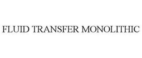 FLUID TRANSFER MONOLITHIC