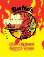 BUFFO'S ASH FLICKIN' HOT HABANERO PEPPER SAUCE