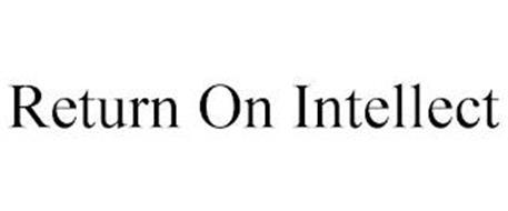 RETURN ON INTELLECT