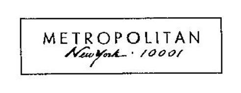 METROPOLITAN NEW YORK 10001