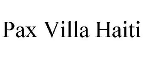 PAX VILLA HAITI