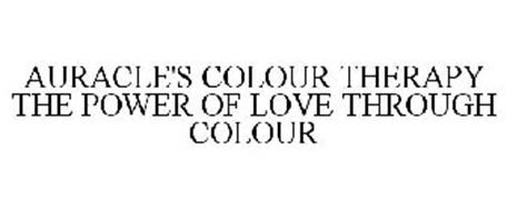 AURACLE'S COLOUR THERAPY THE POWER OF LOVE THROUGH COLOUR