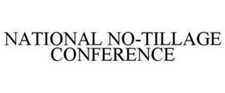 NATIONAL NO-TILLAGE CONFERENCE