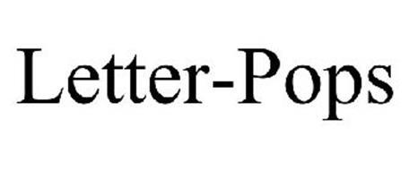 LETTER-POPS