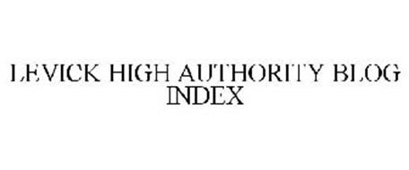 LEVICK HIGH AUTHORITY BLOG INDEX