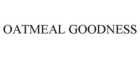 OATMEAL GOODNESS