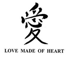 LOVE MADE OF HEART