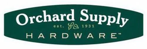 ORCHARD SUPPLY HARDWARE EST. 1931