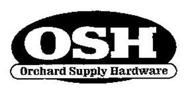 OSH ORCHARD SUPPLY HARDWARE