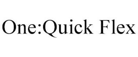 ONE:QUICK FLEX
